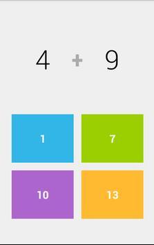 Math Time Attack apk screenshot