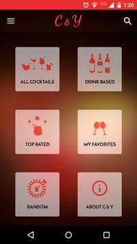 Cocktails & You (C&Y) apk screenshot