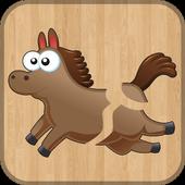 لعبة تركيب الحيوانات للأطفال icon