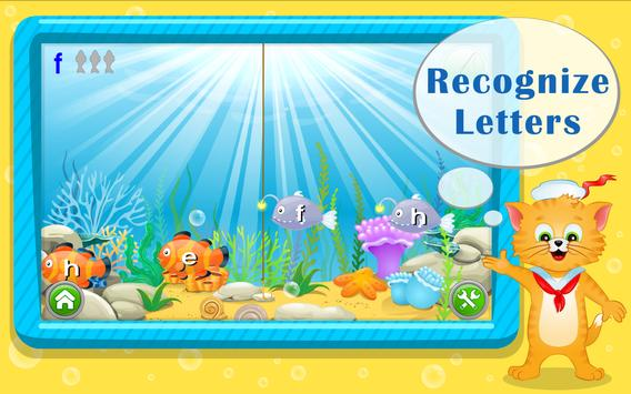 Learn ABC Letters with Captain Cat screenshot 14