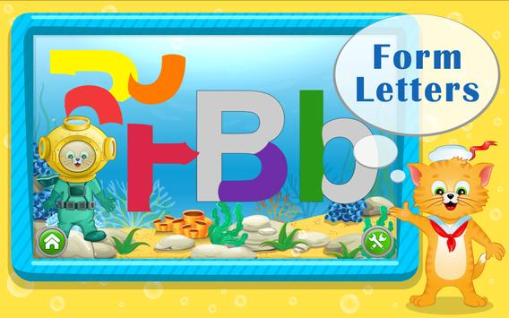 Learn ABC Letters with Captain Cat screenshot 2