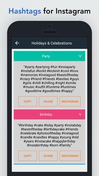 HashTags for Instagram apk screenshot
