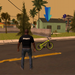 Vice gang bike vs grand zombie in Sun Andreas city