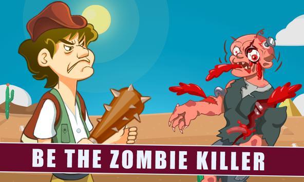 Kill The Stickman Zombie poster