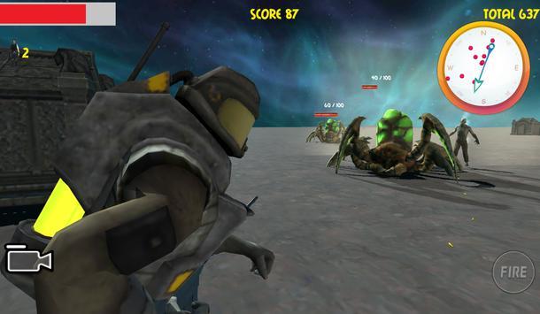 3D Zombie Assassin Graveyard apk screenshot