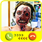 Call from Zombie Prank icon