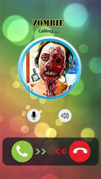 Call from Zombie Prank apk screenshot