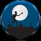 zombie run boy killer icon