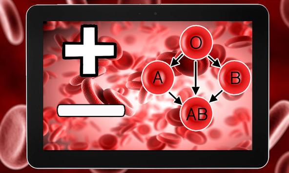 Blood Group Test With Finger Free apk screenshot