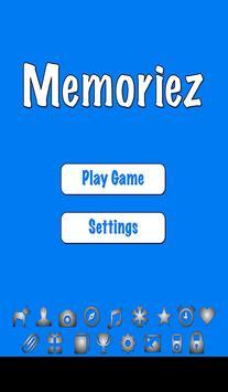Memoriez poster