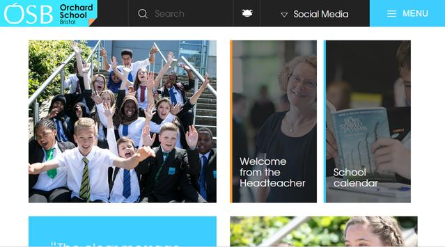 Orchard School Bristol Portal screenshot 2