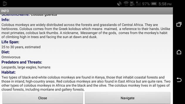 Zoo Explorer screenshot 2