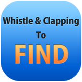 Whistle and clap -Phone Finder icon