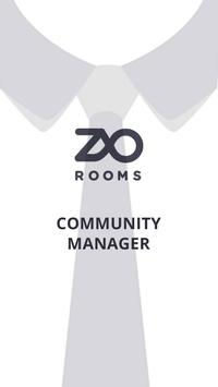 ZO Community Manager poster