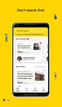 Yellow Pages App poster