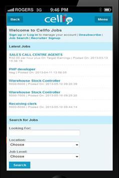 Cellfo screenshot 1