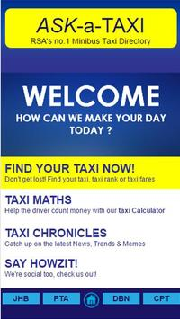 ASK-A-Taxi poster