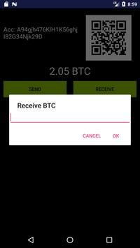 Fake Bitcoin Wallet screenshot 2