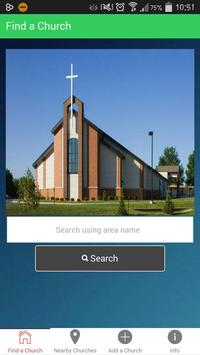 Adventist Church Find poster