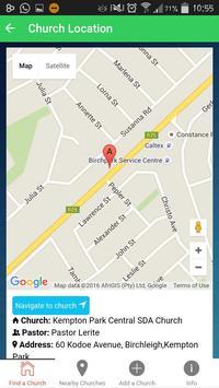 Adventist Church Find screenshot 2