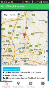 Adventist Church Find screenshot 3
