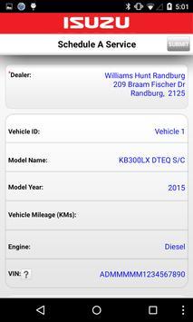 MyIsuzu Car Manager screenshot 2