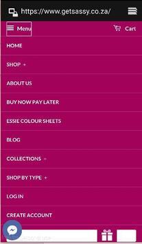 Get Sassy Online Store apk screenshot