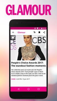Glamour South Africa apk screenshot