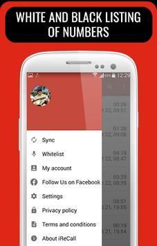Call Recorder - iReCall apk screenshot