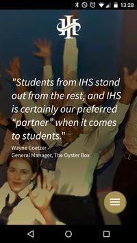International Hotel School poster