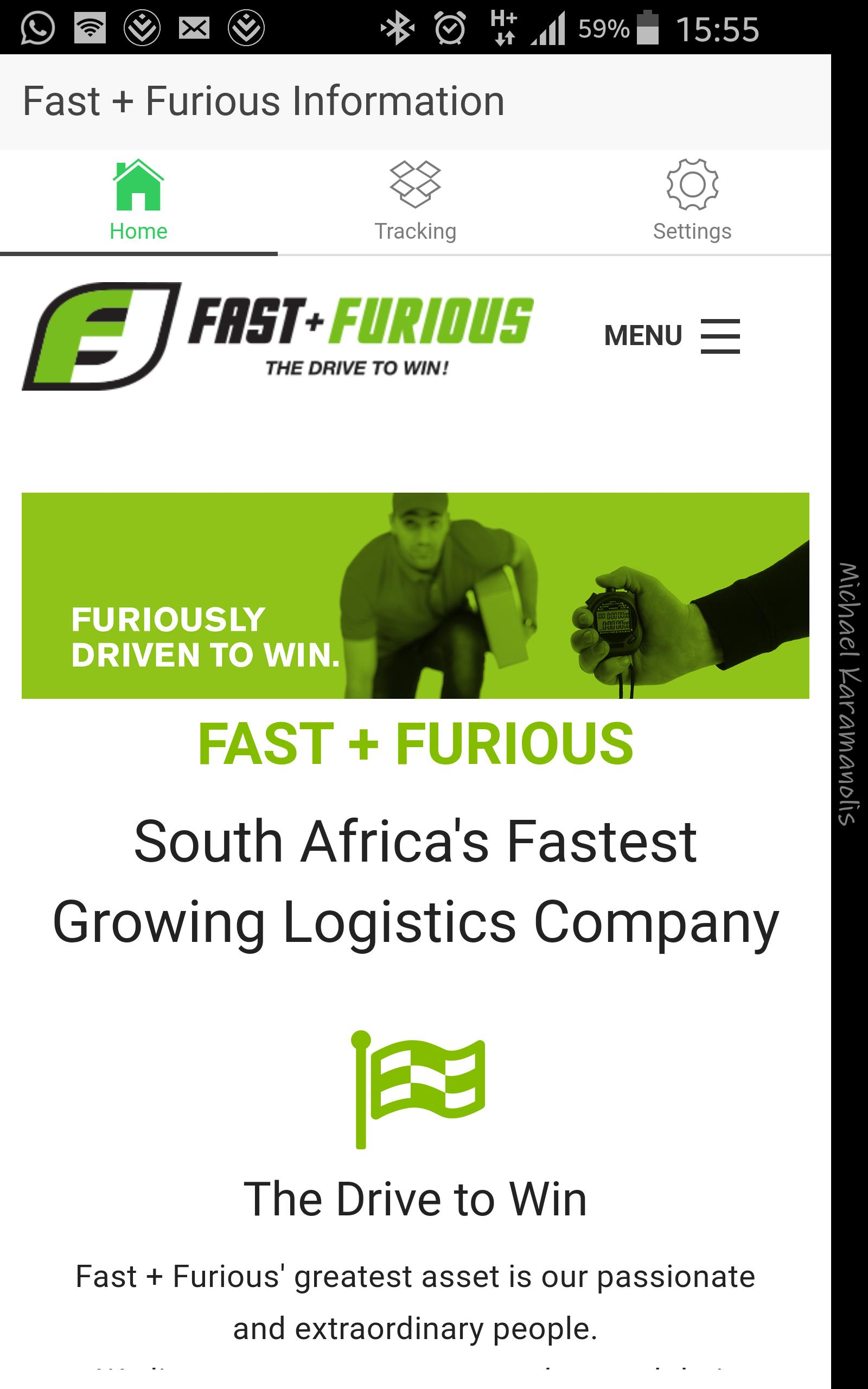 Fast+Furious Waybill Tracking for Android - APK Download