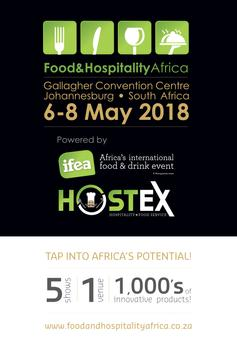 Food & Hospitality Africa poster