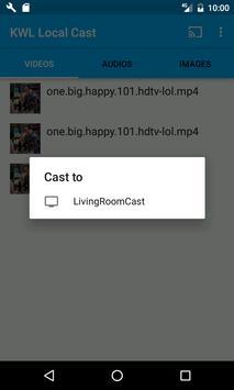 KWL Local Cast apk screenshot