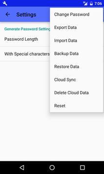 Password Safe apk screenshot
