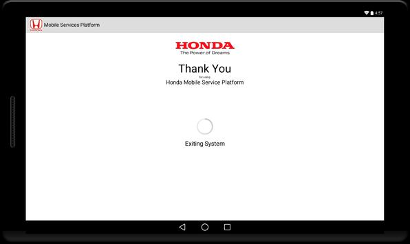 Honda Mobile Services screenshot 2