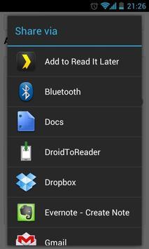 DroidToReader apk screenshot