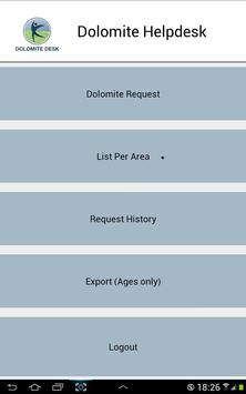 AGES Dolomite Helpdesk apk screenshot