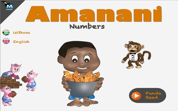 isiXhosa Amanani numbers dummy screenshot 3