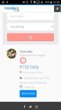 Minderz App screenshot 1