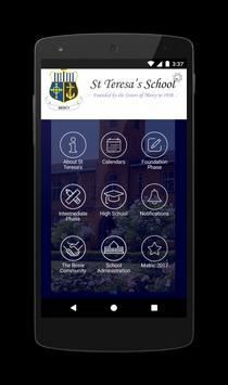 St Teresa's School poster