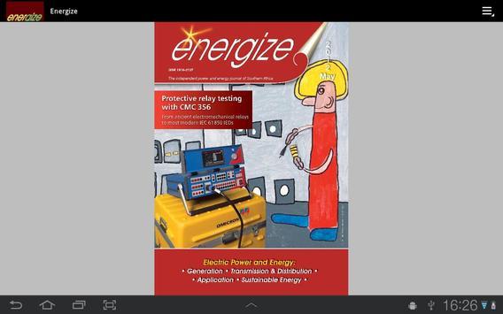 Energize Magazine apk screenshot