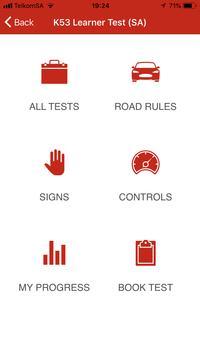 K53 SA Learner Test screenshot 1