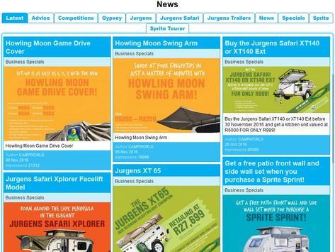 Leisureland Caravans screenshot 3