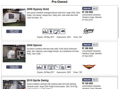 Leisureland Caravans screenshot 4