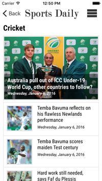 Sports Daily screenshot 3