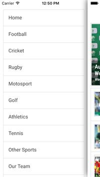 Sports Daily screenshot 1
