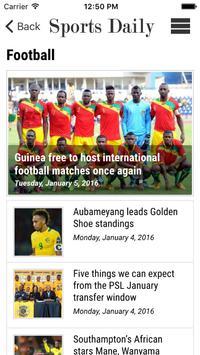 Sports Daily screenshot 2