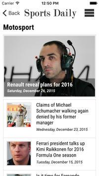 Sports Daily screenshot 4