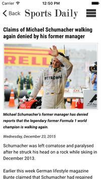 Sports Daily screenshot 5
