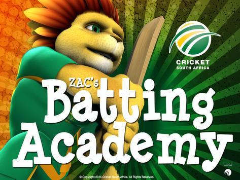 ZAC's Batting Academy apk screenshot